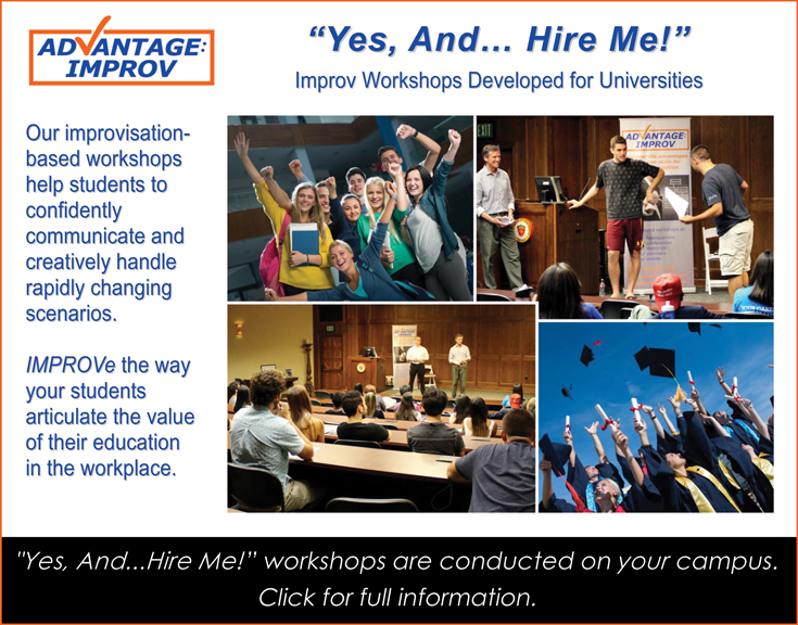 Yes And Hire Me workshops