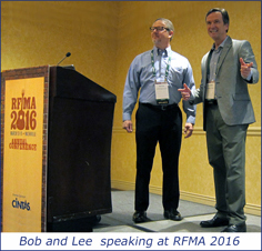 Bob and Lee speaking at RFMA