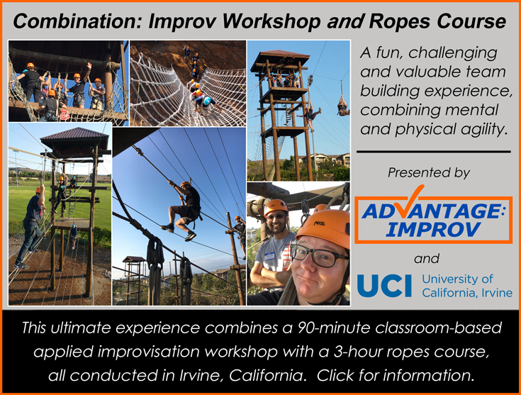 Ropes course add-on